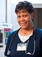 photo of wound care nurse